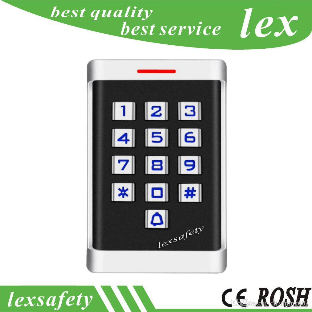 125khz Touch Access Control System metal keyboard ID Card Reader Access Controller Cipher Machine Home Protection system+2 key fobs