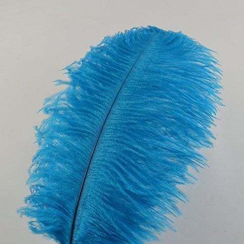 Plumas de avestruz 12-14 pulgadas (30-35 cm) para decoración de la boda en casa plumas decoración del partido 10 unids / lote