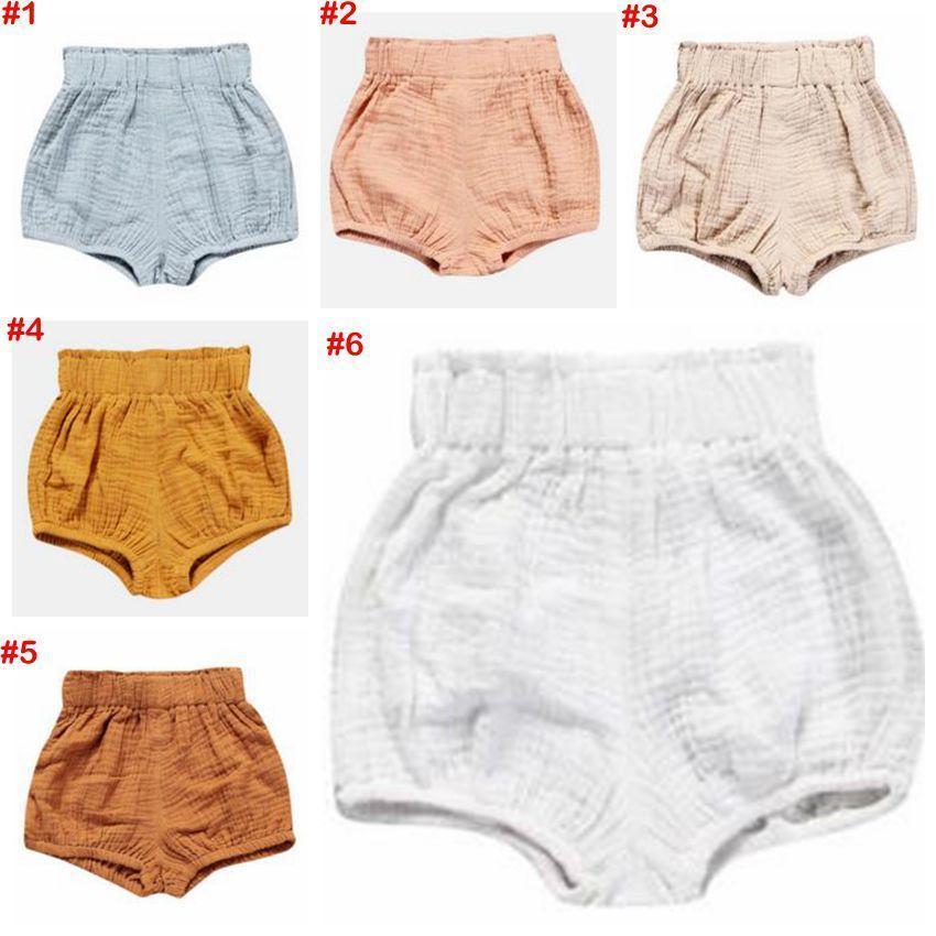 Pantalones cortos para bebés Niños pequeños pantalones de PP Pantalones de niños Triángulo Pantalones de verano Bloomers Recién nacidos Calzoncillos Boutique de pañales Ropa