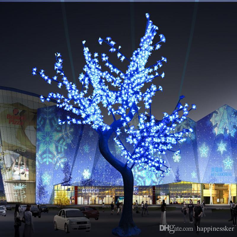 Lampadine a LED per alberi di ciliegio a luce natalizia a LED 864 pz Lampadine a LED altezza 2m Uso interno o esterno Spedizione gratuita Drop shipping Rainproof