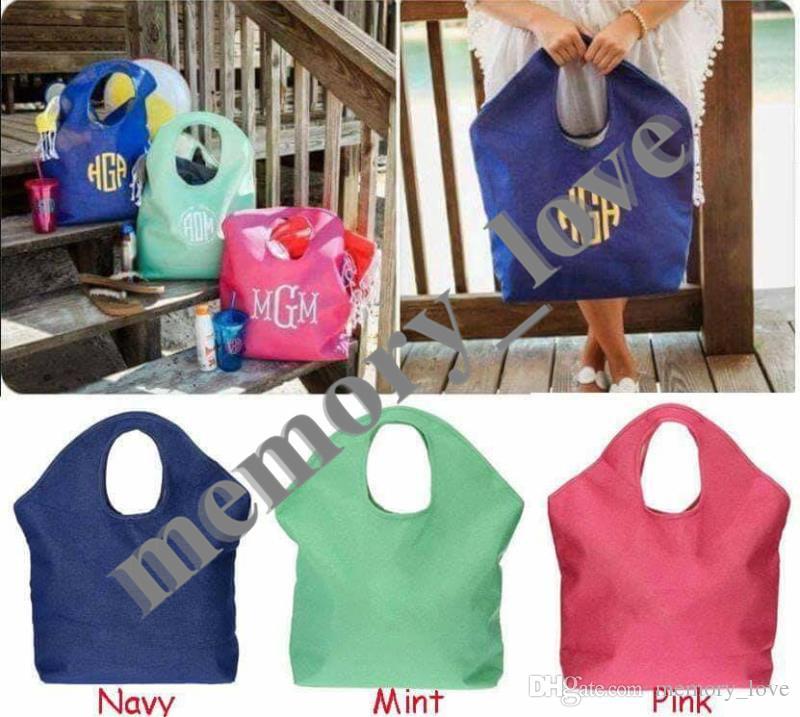 Индивидуальные !!!! Джутовая пляжная сумка Большая женская сумка для покупок большого размера Повседневная пляжная сумка для хранения багажа Открытый карман Пользовательский алфавит