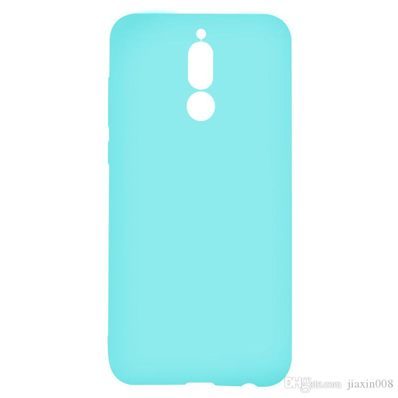 Şeker Renk Kılıf Huawei Mate 10 Lite Kapak Yumuşak TPU Ultrathin Tasarımcı Mobie Telefon Kılıfları Capinha Mate 10 Lite