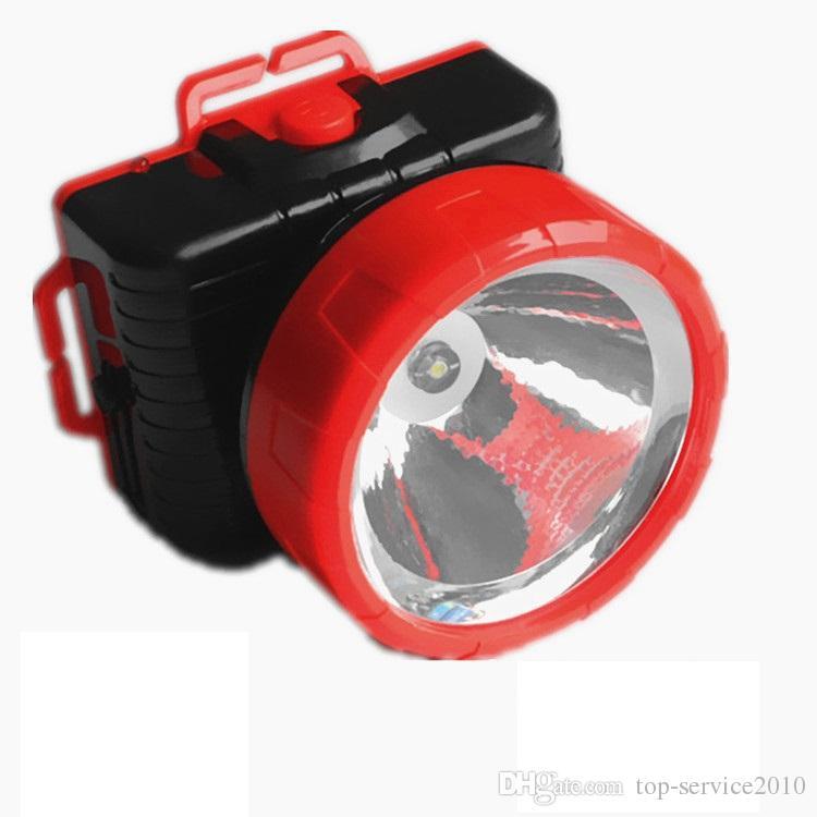 Phares led charge 1W éclairage électrique lampe de poche chasse pêche éblouissement nuit pêche projecteurs en gros Epacket gratuit post