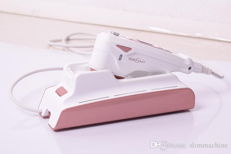 DHL Envío gratis HIFU Máquina de alta intensidad enfocada Ultrasonido Face Lifting Anti arrugas Cuidado de la piel Facial Beauty Equipos personal Uso personal
