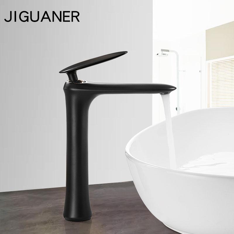 Style de la mode innovante homepage robinet de baignoire multi-couleur robinet chaud / froid robinet de salle de bain noir blanc Deck Mouted