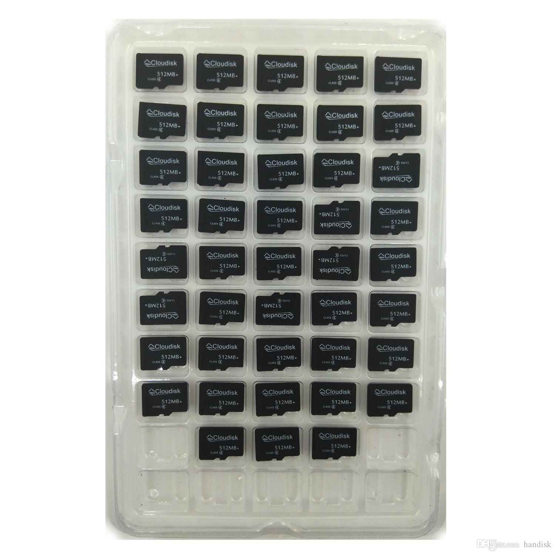 100 % 실제 용량 100pcs / lot 512MB 메모리 카드 512MB MicroSD 카드 클래스 4 도매가 및 CE FCC 인증서