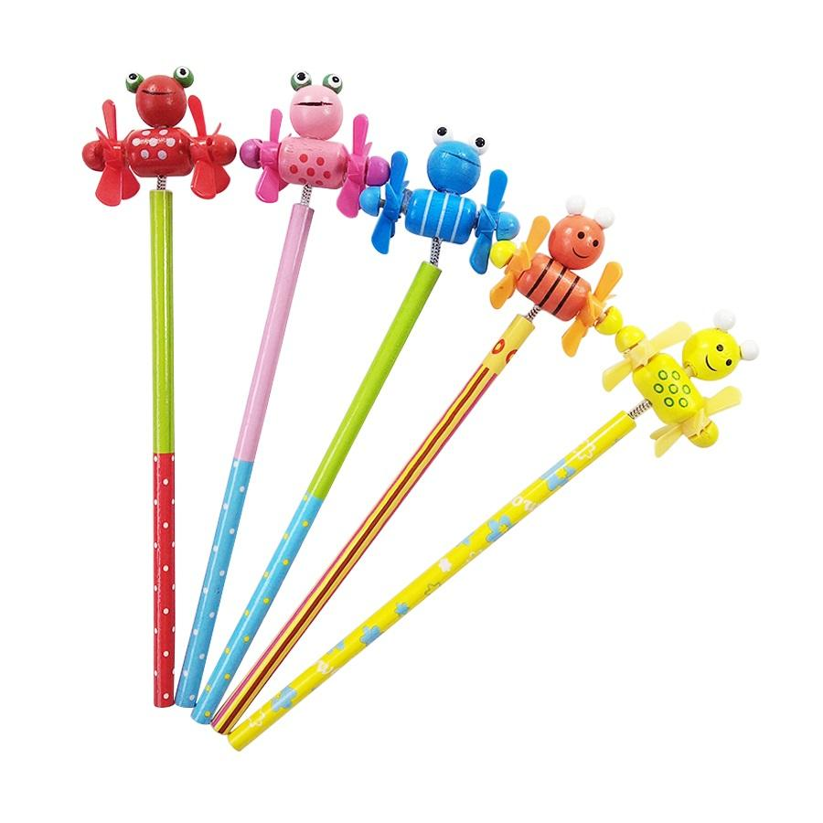 Pencils with Windmill Top Box 24 NEW Party Bag//Wedding Favour Children