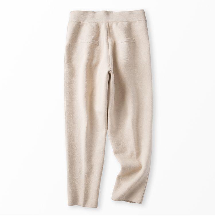 quality design 8ef5c e6af2 Acquista Cashmere Misto Cotone Misto Lana Lavorata A Maglia Donne Felpe  Tuta Pullover Pant / Set Beige i S XL A $99.5 Dal Tisco | DHgate.Com