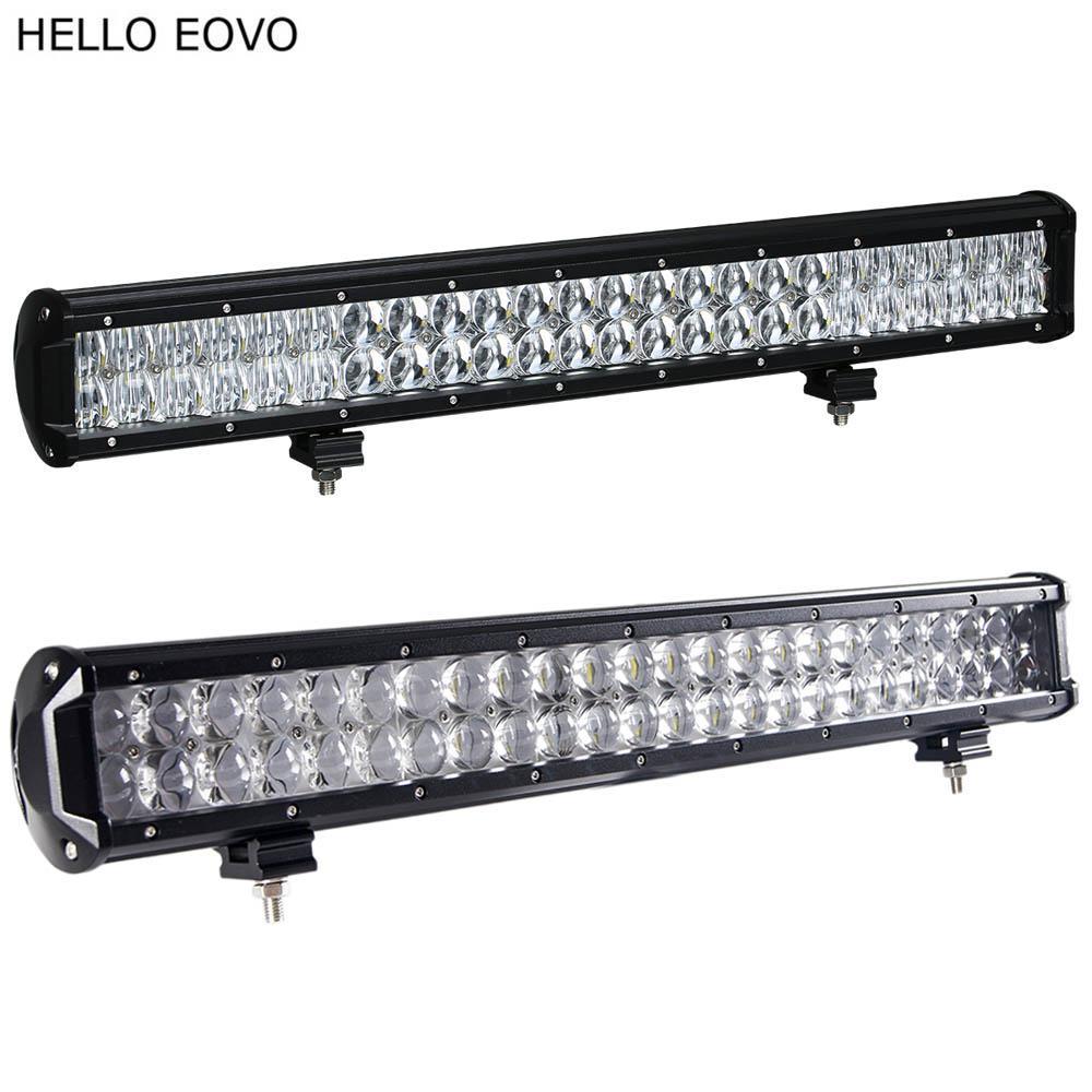 HELLO EOVO 22 Zoll 240W 4D 5D LED Lichtleiste für Arbeit Indikatoren Driving Offroad Boot Auto Traktor Truck 4x4 SUV ATV