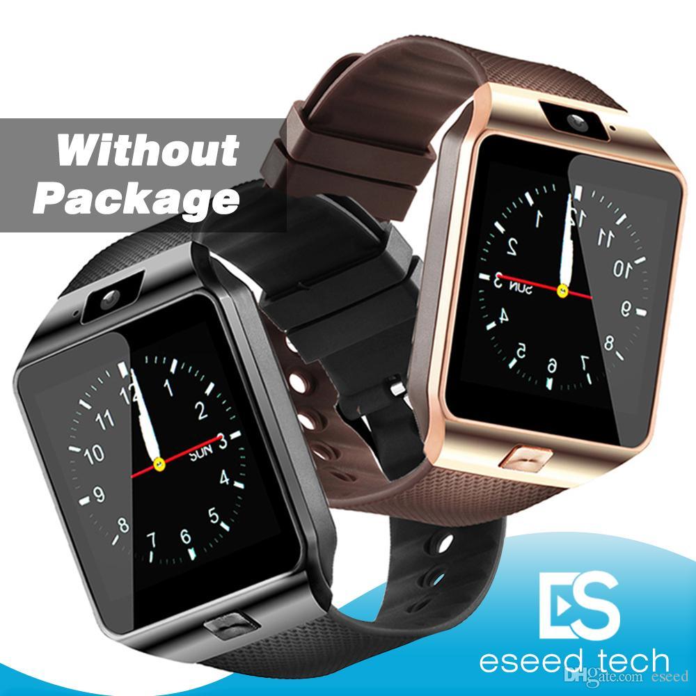 DZ09 montre intelligente pour montre android Q18 GT08 SmartWatch pour téléphone intelligent Samsung avec la réponse d'appel cadran caméra Passometer Non BOX