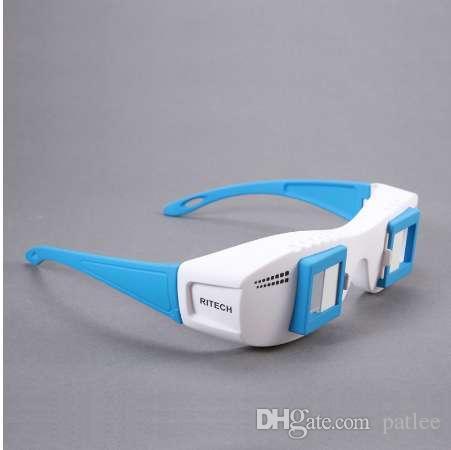 F17700 Proiettore per computer in vetro RITECH 3D Moive Mate II con occhiali 3D stereoscopici di formato sinistro