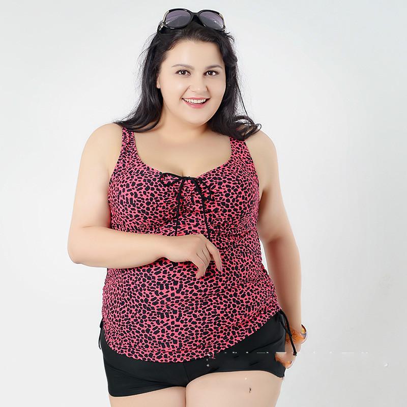 유럽과 미국의 여성 유행 스타일 큰 크기의 뚱뚱한 여자의 수영복은 얇은입니다