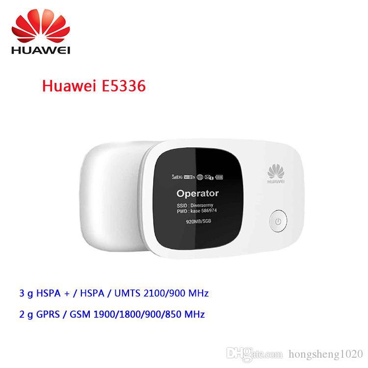 Desbloqueado Huawei router E5336 3G MiFi roteador WiFi Mobile Hotspot bolso mini-Router 3G WiFi com slot para cartão SIM