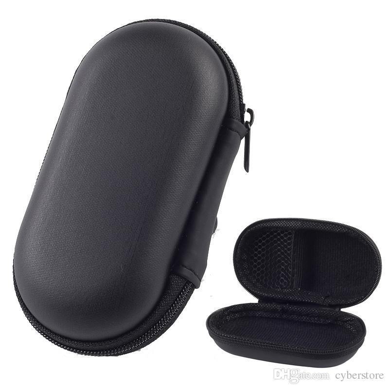 Más reciente Bolsa con cremallera Cable para auriculares Mini caja Tarjeta SD Portamonedas Portátil Bolsa para auriculares Bolsa de transporte Funda de bolsillo Bolsas de almacenamiento Cajas