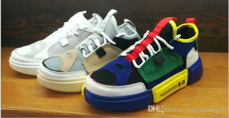 2018 best-seller nouvelles chaussures pour enfants marée nationale vieilles chaussures coréennes de sport rétro chaussures chérie chaussures deal direct
