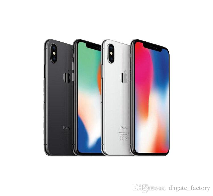 Ursprünglicher frei Apple iPhone X iphoneX 4G LTE Handy 5.8 '' 12.0mp 3G RAM 64G / 256G ROM Face ID Handy