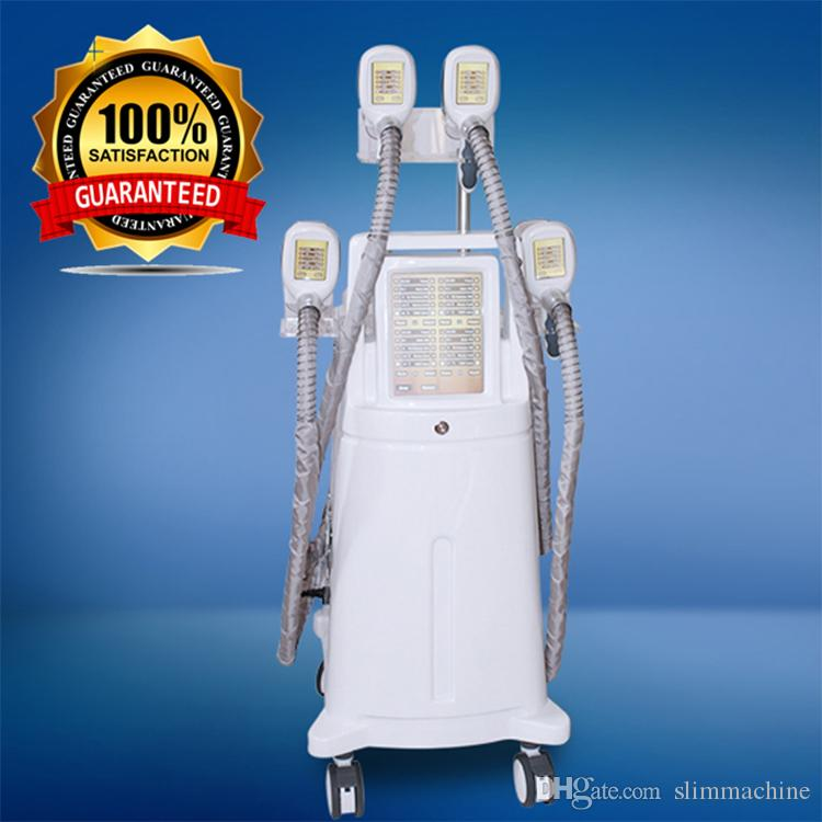 Cryolipolysis Newest Fat Freezing Machine Ultrasonic Cavitation Slimming Beauty Equipment 4 Handles Could Work Together CE