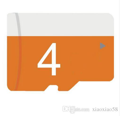 100 % 어댑터 클래스 10/6 TF 메모리 카드 4기가바이트 무료 운임으로 실제 4 기가 바이트 메모리 카드 100PCS 마이크로 4G TF 메모리 카드 클래스 10/6