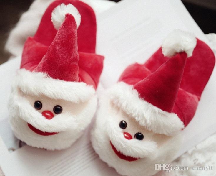 2018 لطيف الإبداعية عيد الميلاد منشفة المنزل سانتا كلوز زوجين الوالدين والطفل سميكة ممسحة أرضية خشبية القطن