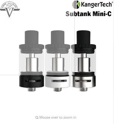 Original Kanger Subtank Mini-C 3ml Top-filling Tank Kangertech Subtank Mini C Atomizer Fit E Cigarettes Box MOD Vape