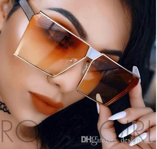 Gafas de sol Extremo SHIELD ESPEJO REAL ROYAL NUEVO GLANCOS GLOSA MUJERES SS812 Estilo Vintage Glasses Sun Klceb