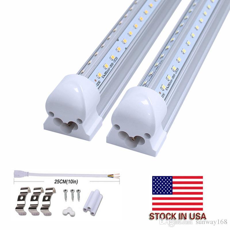 buy popular 4f1eb 476cf V Shape 8ft Led Tube Lights T8 Integrated Cooler Door Design Shop LED  Lights Fixture 2ft 3ft 4ft 5ft 6ft 3000K 4000K 5000K 6000K Led T5 Tube T5  Led ...