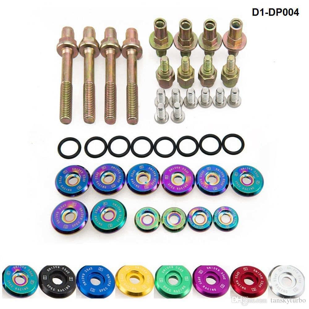 D1 Spec Racing Evtec صمام الغسيل غسالات البراغي الأجهزة كيت لهوندا سيفيك أكورا Integra D1-DP004