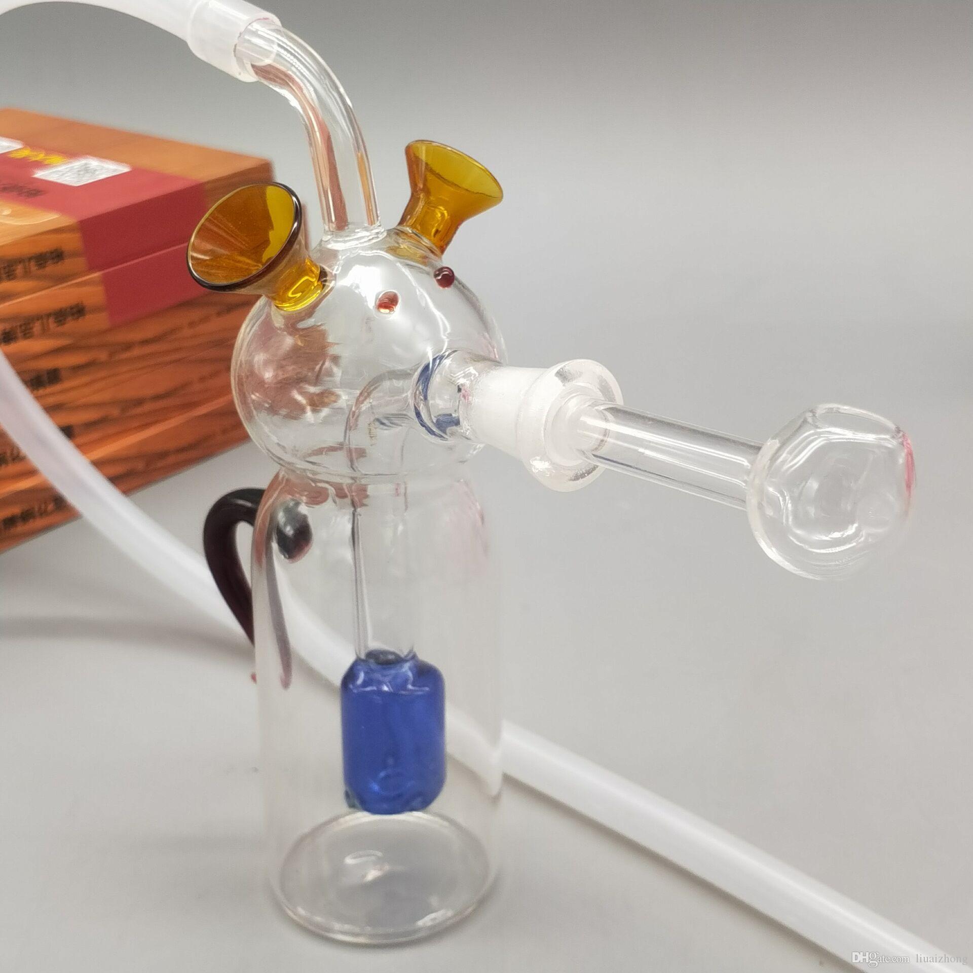 Табак кальяна нов - типа шарж - форменный с стеклом цвета bong трубы фильтра