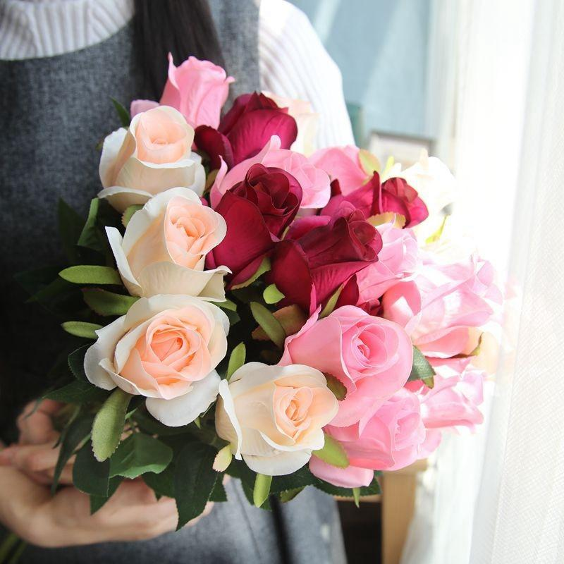2020 Fresh Rose Artificial Flowers Real Touch Rose Flowers Home Decorations For Wedding Party Or Birthday From Rosequeenflower 0 87 Dhgate Com