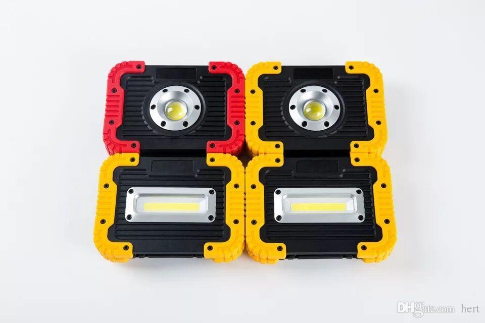 الصمام USB الكاشف الكوز ضوء العمل فانوس 750LM 3 وضع 8800mAH USB قوة البنك ضوء العمل في حالات الطوارئ الصمام ضوء الفيضانات في الهواء الطلق