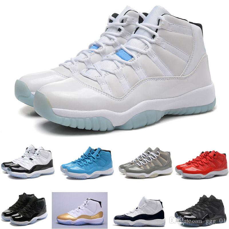 Free shipping classics Mid cutb NO.11 Men's basketball shoes Hot selling light comfortable sport shoes XI MID cut sneaker boot for men