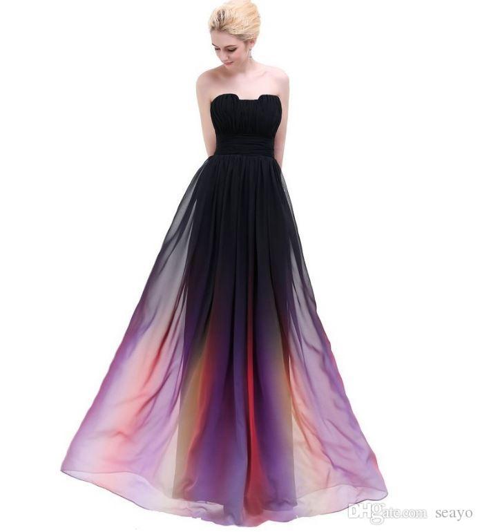 La nouvelle robe de soirée d'automne 2018, la robe annuelle de l'hôte, la vente directe d'usine, peut être personnalisée