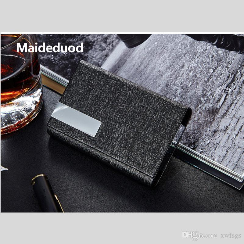 High-quality Aluminum Alloy Business ID Credit Card Holder Wallet Waterproof Anti-magnetic RFID Card Bags Purse Chirstmas Gifts