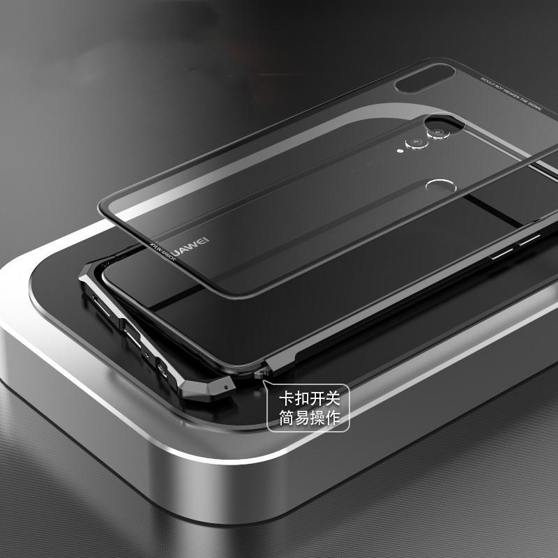 Compre Atacado Para Huawei Honor 8x Max Case Moldura De Metal Transparente Tampa Traseira De Vidro Temperado Para Huawei Honor 8x Case à Prova De Choque De Shuokai001 146 78 Pt Dhgate Com