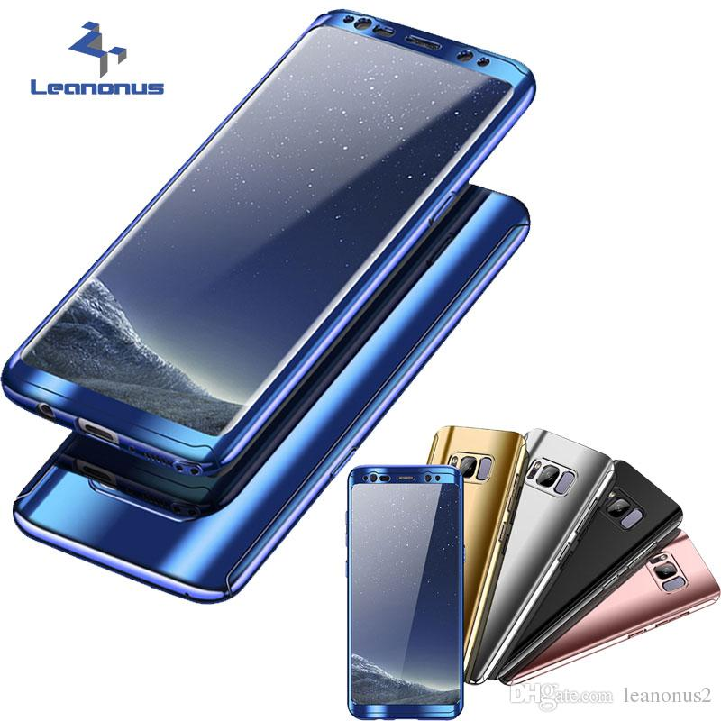 sale retailer d43f7 7bfb2 Best Cases For Samsung Galaxy Note 8 Note8 360 Degree Full Coverage Plating  Case+Screen Protector Luxury Covers For Galaxy S8 Plus S8+ Cover Cell ...