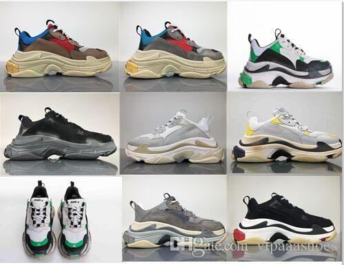 Großhandel Balenciaga Vapormax Off White Shoes Nike Boots Vans Nmd Supreme Schuhe Athletisch Trendy Top Qualität Neue Farbe Triple S Sneakers Männer