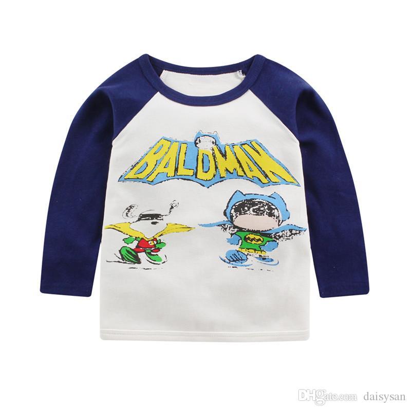 Kids T-shirt children cartoon T-shirt baby kids cotton tops boys girls Garment children clothing