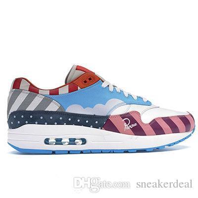 Air 1 Amico Famiglia Zoom Spiridon White Multi Rainbow Sean New Sports Sneakers Train Piet Parra Designer Scarpe da corsa da donna da uomo