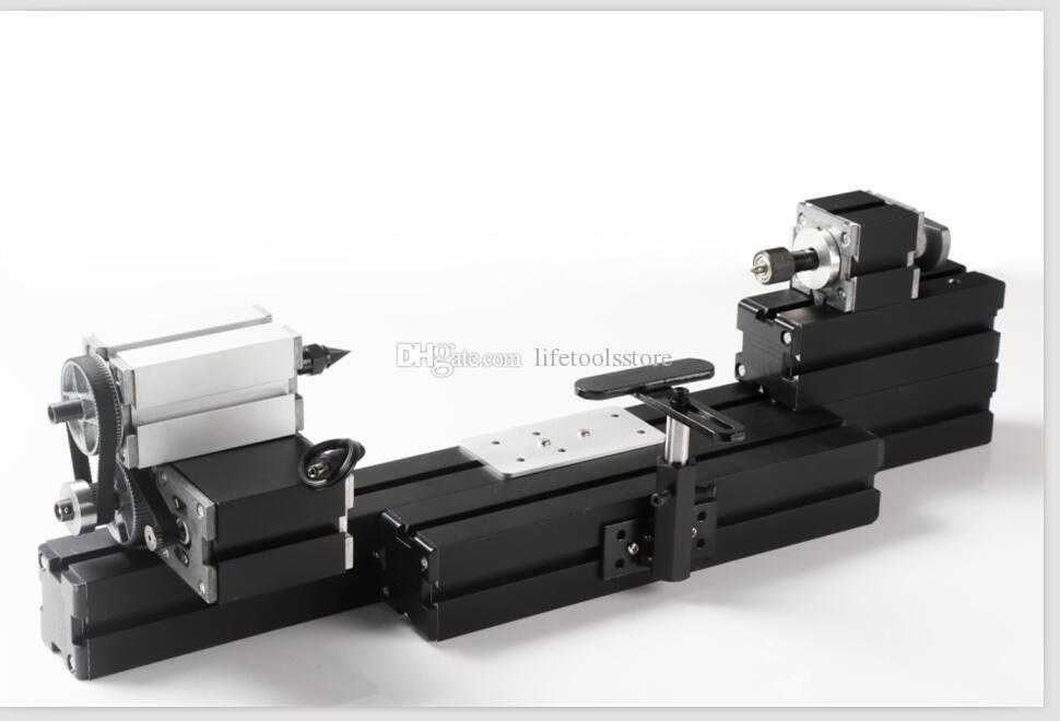 TZ20003MB DIY BigPower Mini Metal Ahşap Tornalama Torna, 60 W 12000R / Min Motor, Standartlaştırılmış Çocuk Eğitimi, En İyi Hediye