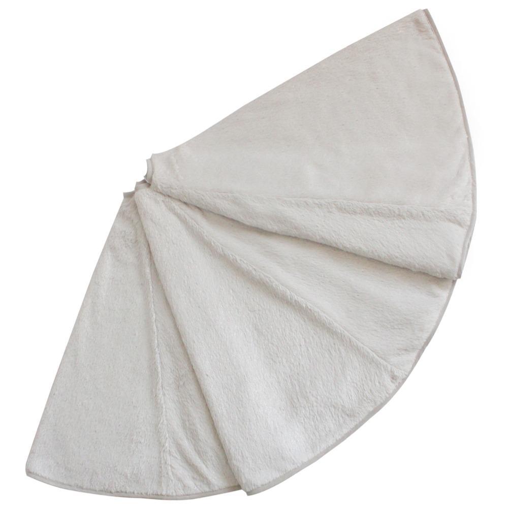 """Бесплатная доставка очень большой 48 """" PV бархат искусственный мех Рождественская елка юбка с блестками печатных Competitve цена P4202"""