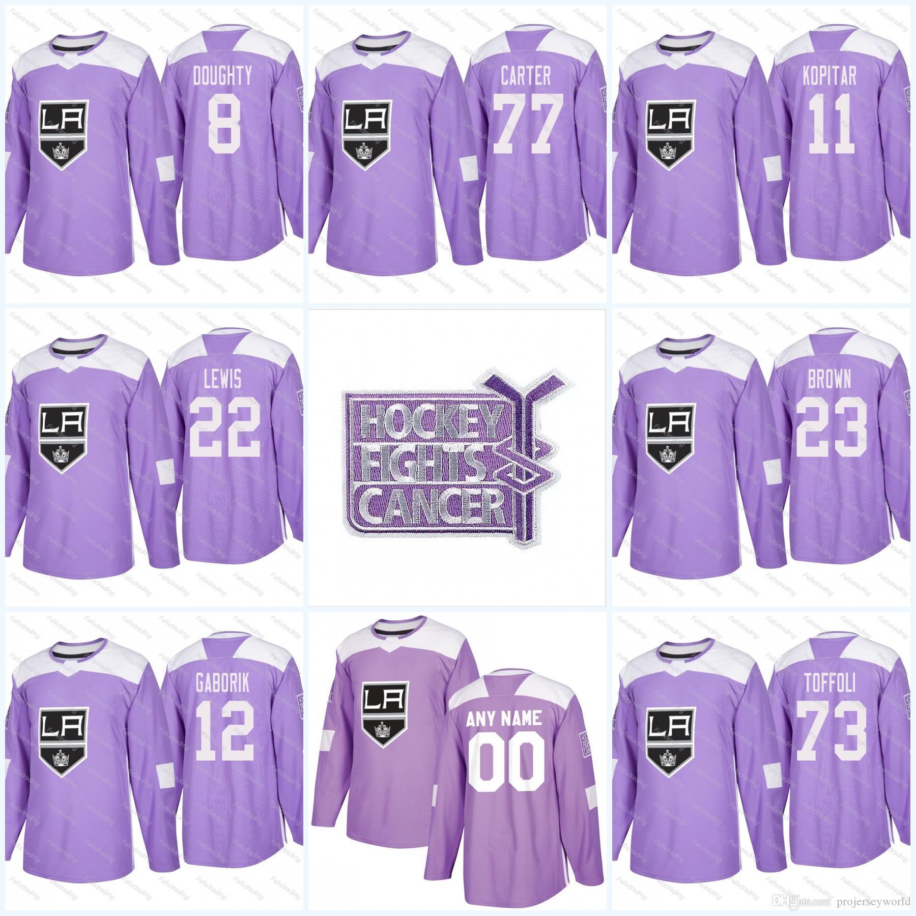drew doughty purple jersey