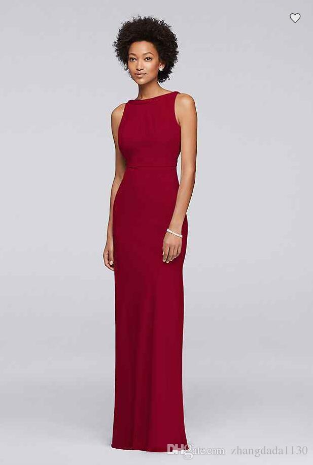 Free Shipping 2018 New Arrival JP291747 Long Chiffon Bridesmaid Dress with Beading Custom Made Bridesmaid Dress