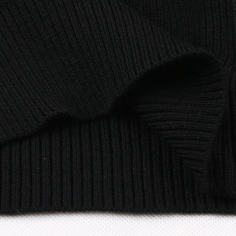 Wolle Solid Jacken Color MACROSEA 100Merinowolle Männlich SweaterCoat Gestrickte Großhandel Herren Formelle Business Reißverschluss Pullover AS54cLqR3j
