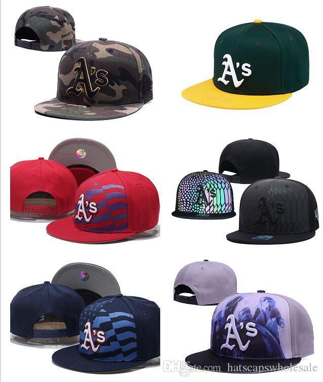 Wholesale Cheap AthleticsS Snapback Cap In Baseball Brands Popular Hip Hop Flat Summer Adjustable Hat Embroidered Logo Sport Hats Men's