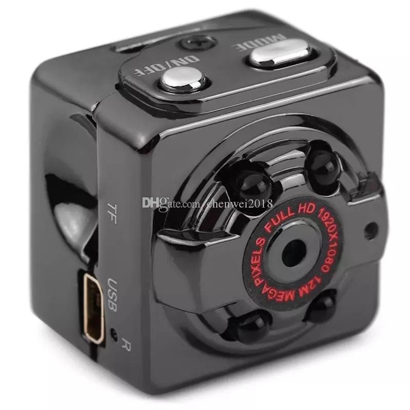 FULL HD 1080P Mini DV DVR SQ8 IR night vision micro camera Portable Audio Video Camera With Motion Detection