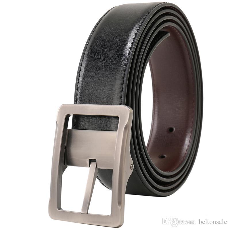 "New top quality Fashion Men/'s Belt Genuine Leather womens belt Waist 30/""-54/"""