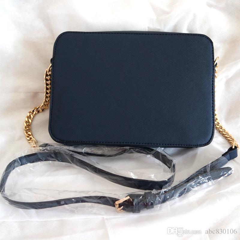 TAILLE 23 cm * 5 cm * 16 cm mode femmes célèbre MYK sac à main en cuir modèle croisé sacs carrés une épaule sac bandoulière sac à main chaîne