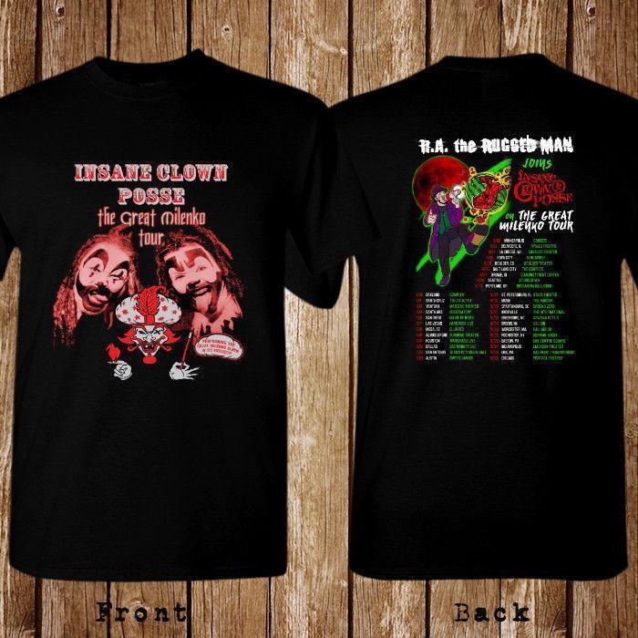 Insane Clown Posse The Great Milenko Black T-shirt Size S-3XL Mens Tees