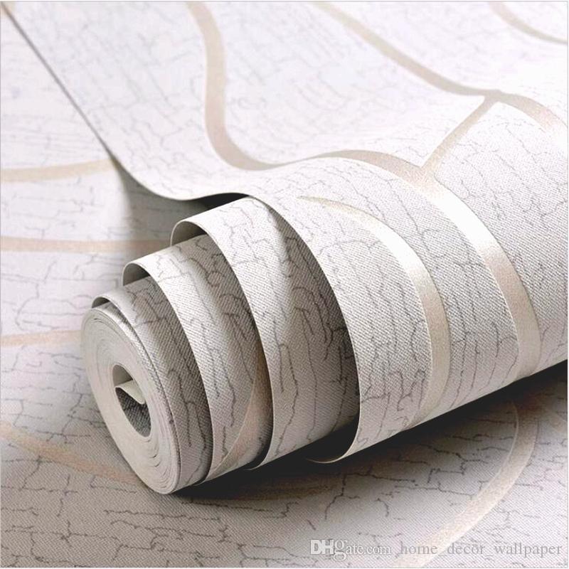Non Woven 3D Wallpaper Roll Modern Simple Style Surface Striped Nonwoven Wall Paper 3D Desktop Wallpaper