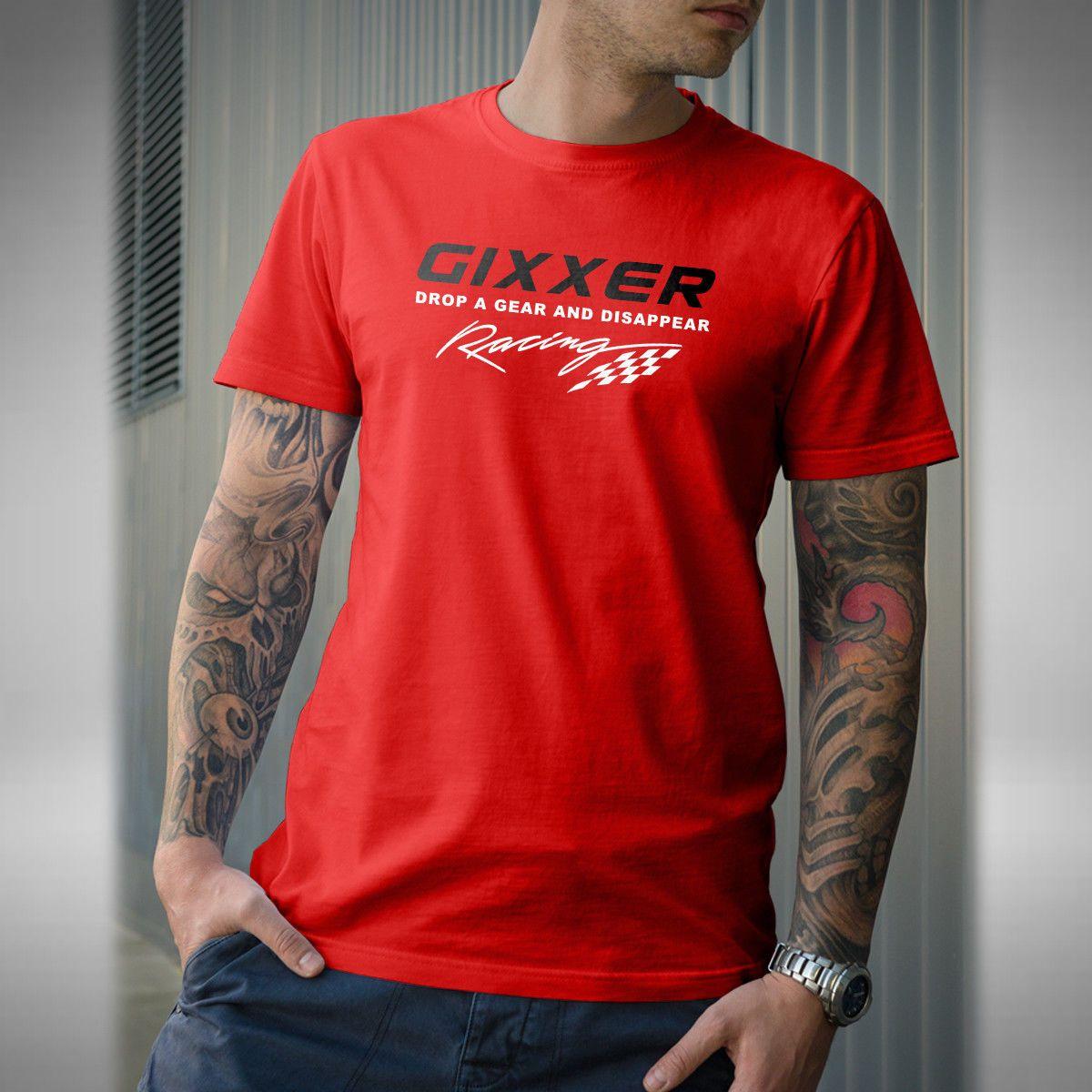 GIXXER Adult Hoodie Superbike Motorbike Bikes Road Bike Biker Race Red